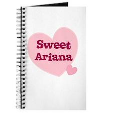 Sweet Ariana Journal