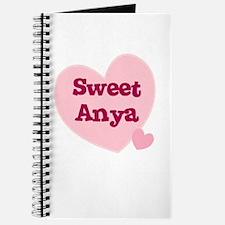 Sweet Anya Journal