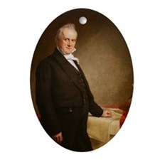 James Buchanan Christmas Ornament