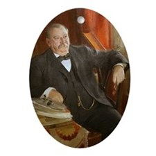 Grover Cleveland Christmas Ornament