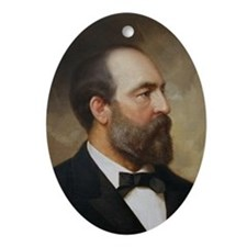 James A. Garfield Christmas Ornament