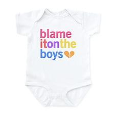 Blame It On The Boys Onesie