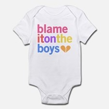 Blame It On The Boys Onesie