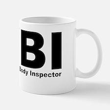 Cute Fbi female body inspector Mug