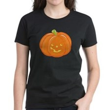 halloween pumpkin maternity Tee