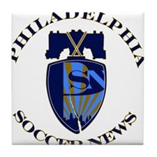 Cute Philadelphia union Tile Coaster