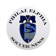 Cute Philadelphia union Ornament (Round)
