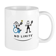 Disabled Tennis Girl Mug