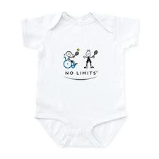Disabled Tennis Girl Infant Bodysuit