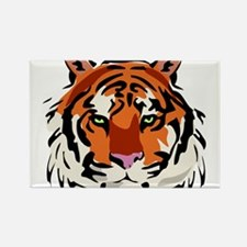 TIGERS (1) Rectangle Magnet