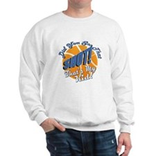 Basketball Kid Shot Sweatshirt