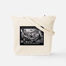 Tribal Belly Dance Goddess Henna Tote Bag