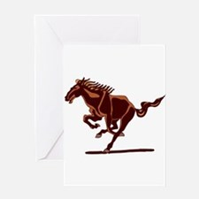 BRONCO / COLTS (2) Greeting Card