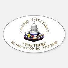 9/12 I Was There DC - Oval Decal