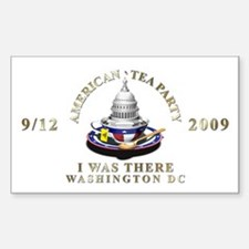 9/12 I Was There DC - Rectangle Decal