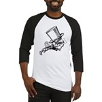 Mad Hatter Striding Right Baseball Jersey