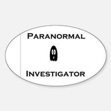 Paranormal Oval Decal