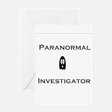Paranormal Greeting Card