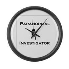 Paranormal Large Wall Clock