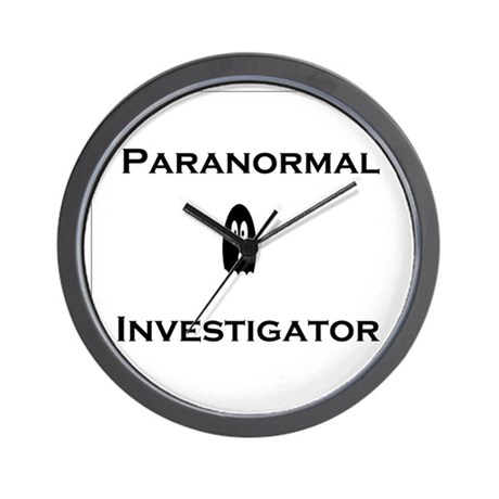 Paranormal Wall Clock
