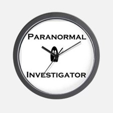 Paranormal Wall Clock