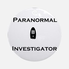 Paranormal Ornament (Round)