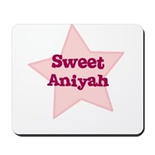 Sweet Aniyah Mousepad