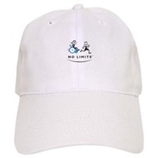 Girl with running Boy Baseball Cap