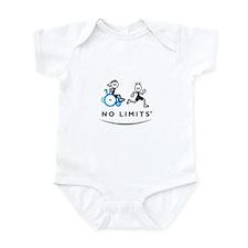 Girl with running Boy Infant Bodysuit