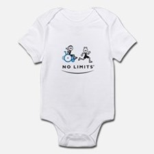 Girl with running Boy Infant Bodysuit