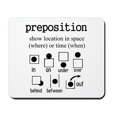 PREPOSITION Mousepad