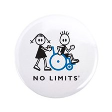 """Girl Pushes Disabled Boy 3.5"""" Button"""