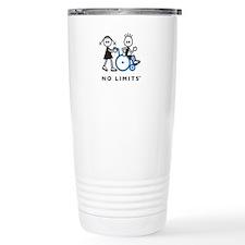 Girl Pushes Disabled Boy Travel Mug
