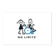 Girl Pushes Disabled Boy Postcards (Package of 8)