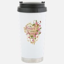 Heart belongs to Jesus Travel Mug
