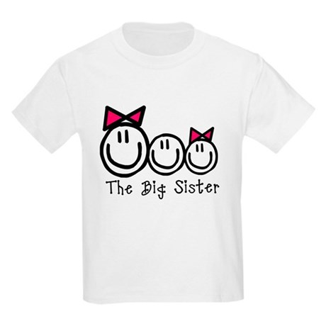 The Big Sister (G,B,G) Kids Light T-Shirt