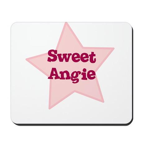 Sweet Angie Mousepad