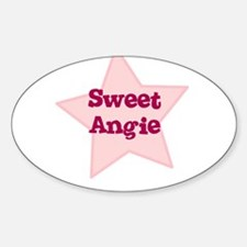 Sweet Angie Oval Decal