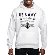 US Navy Brother Defending Hoodie