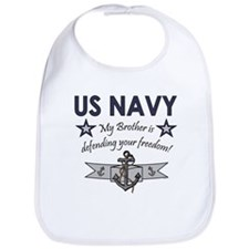 US Navy Brother Defending Bib