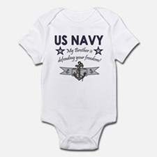 US Navy Brother Defending Infant Creeper