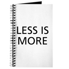 Less is More Journal