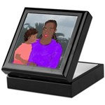 Mother and Daughter Keepsake Box