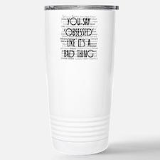 Obsessed with Edward Travel Mug