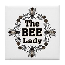 Bee Lady Tile Coaster