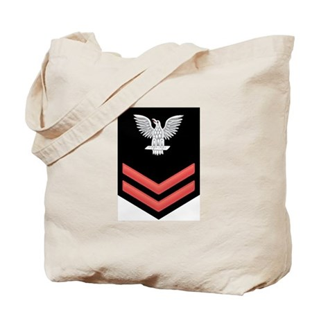 Petty Officer Second Class Red Tote Bag