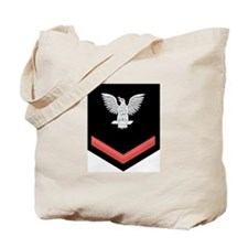 Petty Officer Third Class Red Tote Bag