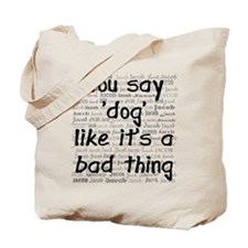 Jacob Dog Tote Bag
