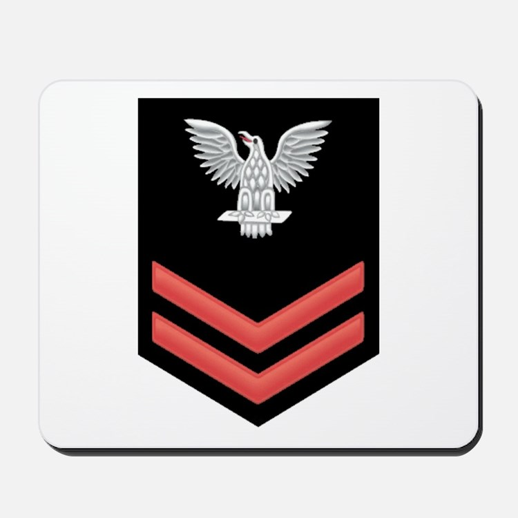 Petty Officer Second Class Red Mousepad
