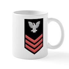 Petty Officer First Class Red Mug